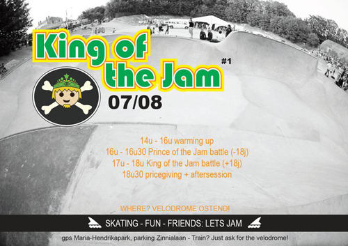 flyer king of the jam