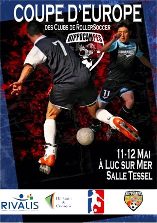 affiche europa cup roller soccer