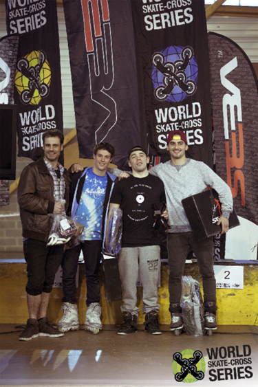 world cross series podium
